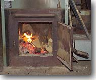 Kerr Wood Furnace http://www.crabcoll.com/journal/wood.html